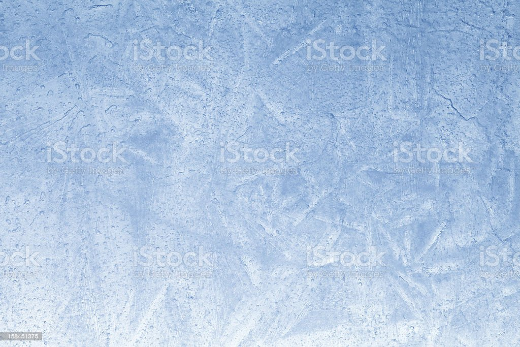 Ice Texture with Bubbles and Frost royalty-free stock photo