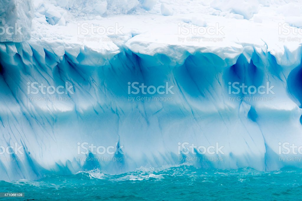 Ice Textures Iceberg stock photo