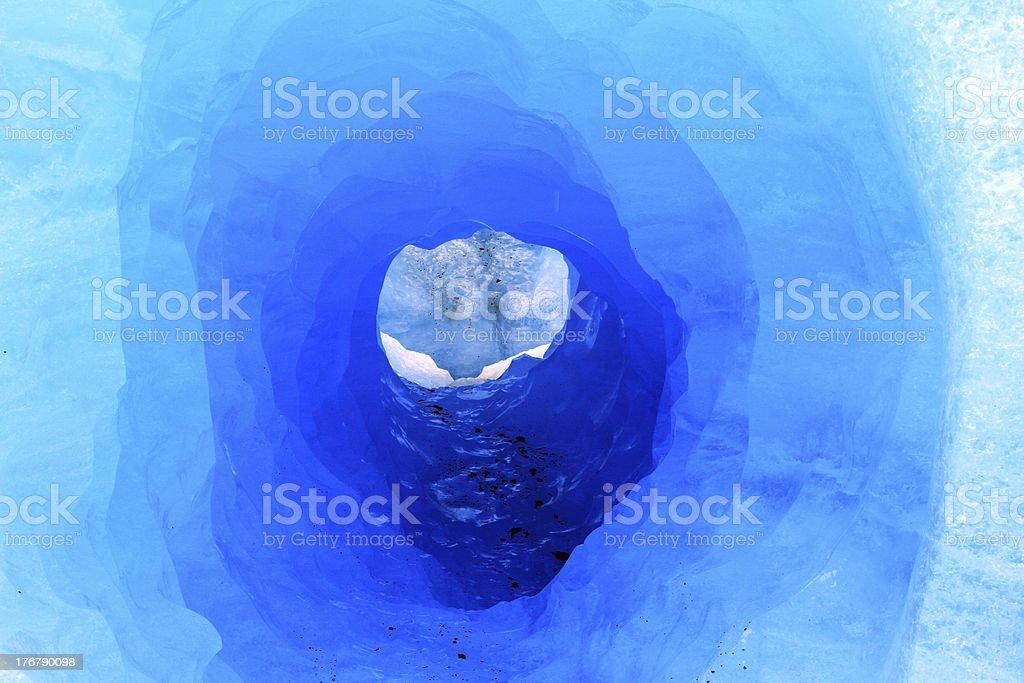 Ice Tunnel stock photo
