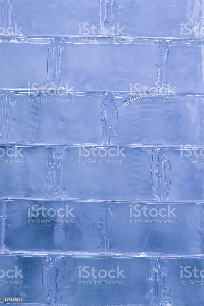 Ice Wall royalty-free stock photo