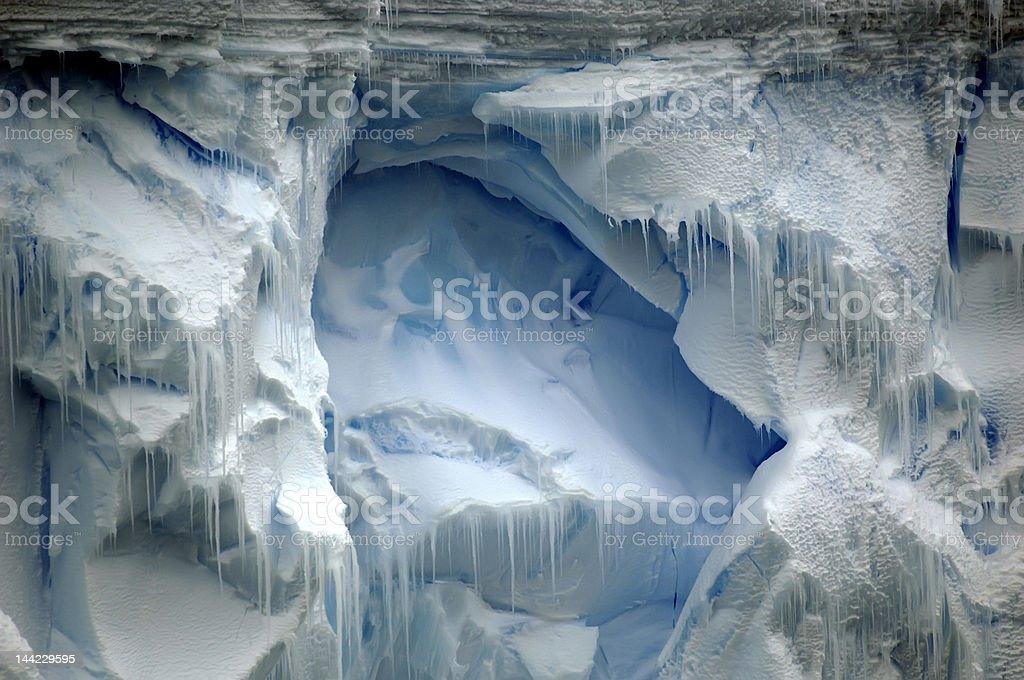 Ice の壁 ロイヤリティフリーストックフォト