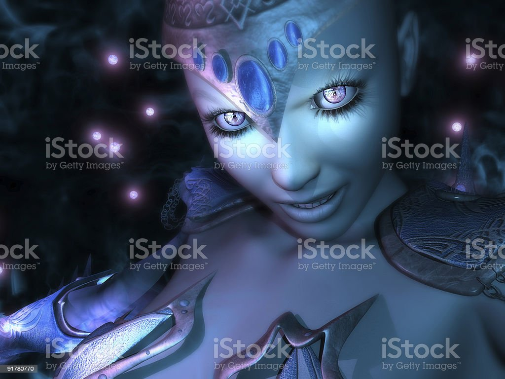 Ice Wizard royalty-free stock photo