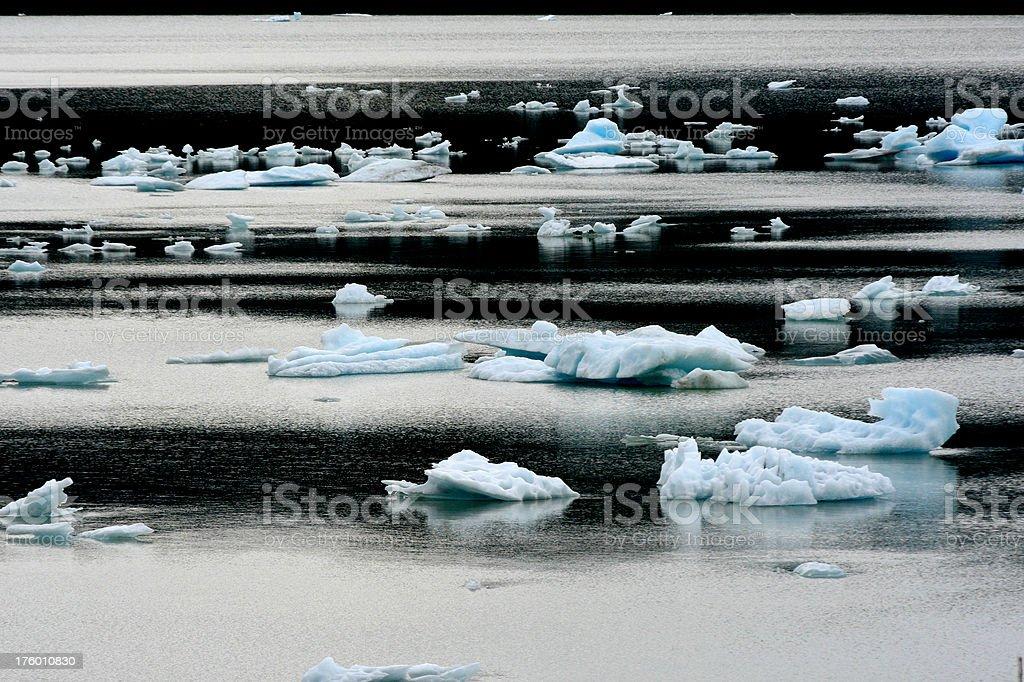 Iceberg astratto foto stock royalty-free
