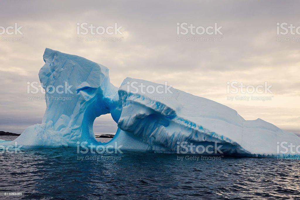 Iceberg - Antarctica stock photo