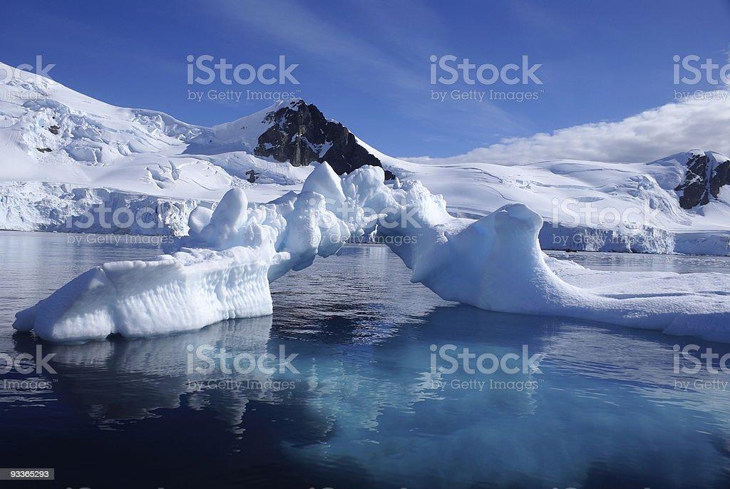 Iceberg Arch stock photo