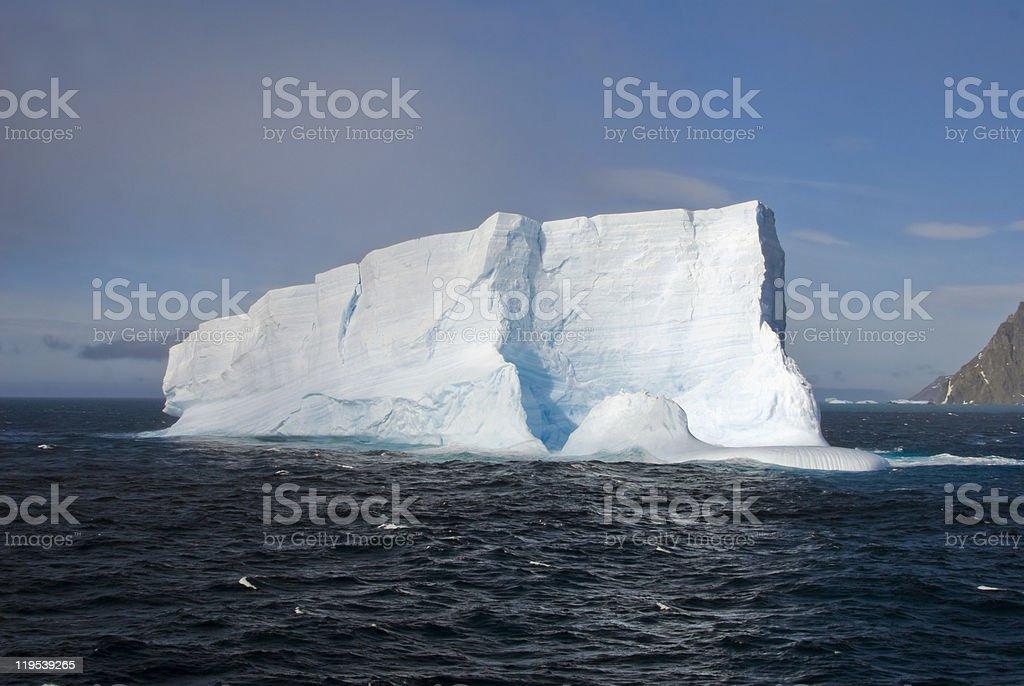 Iceberg at South Georgia stock photo
