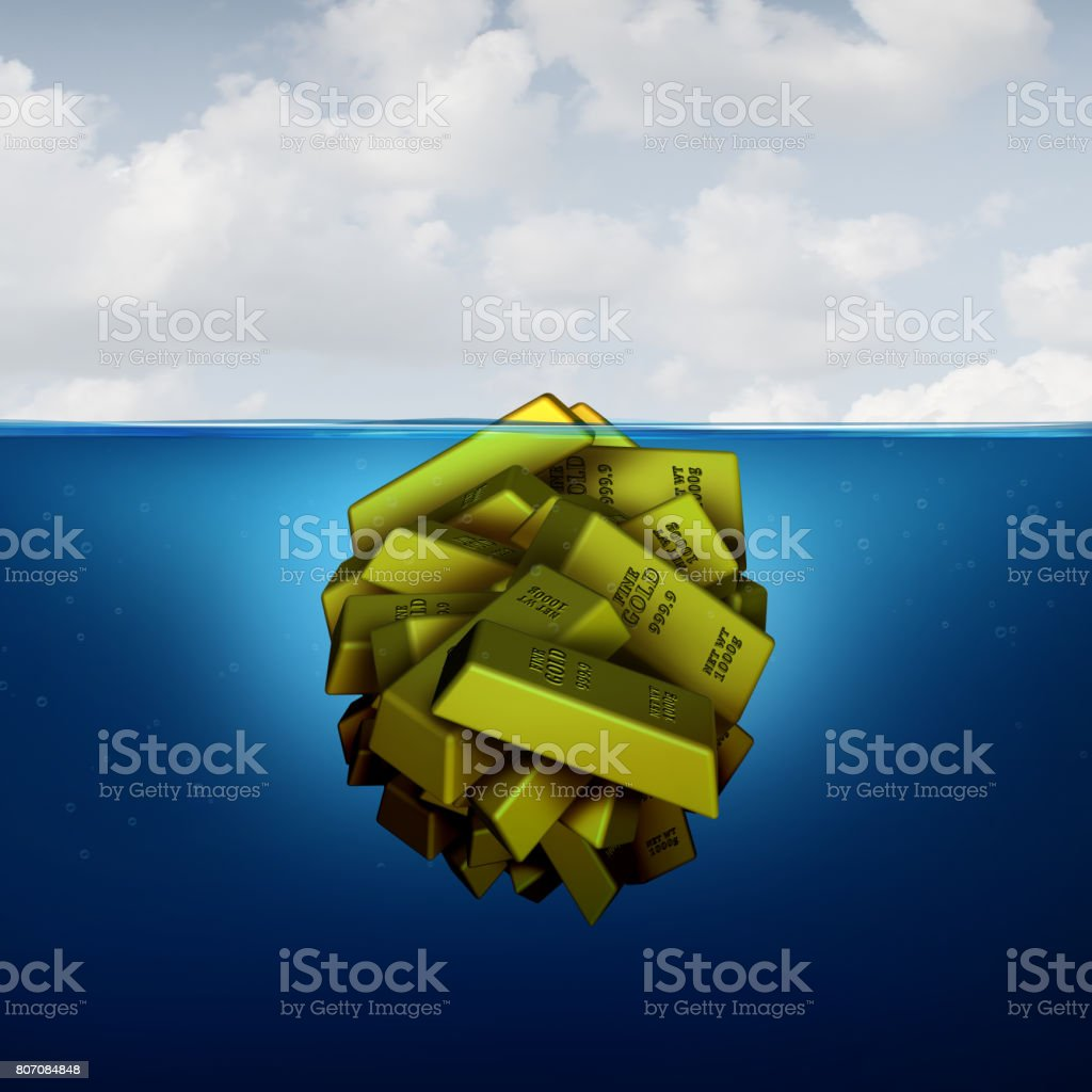 Iceberg Business Concept stock photo