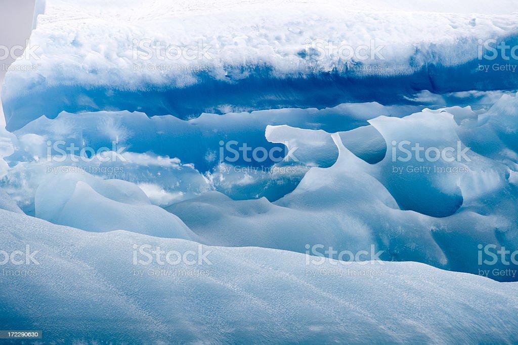 Iceberg Detail Antarctica IV royalty-free stock photo