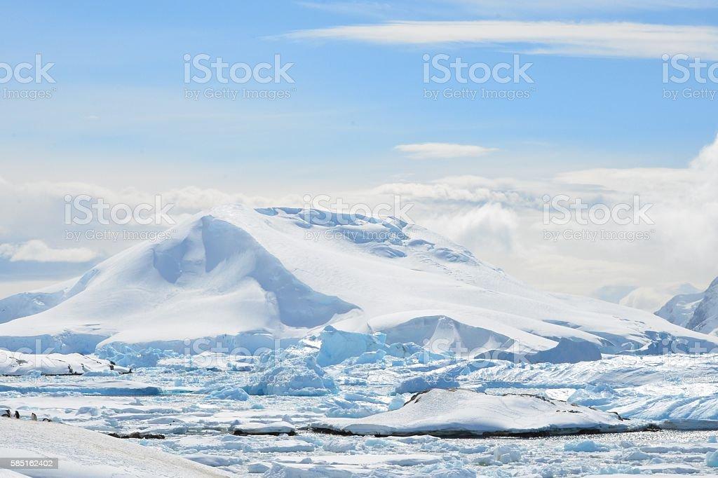 Iceberg Graveyard stock photo