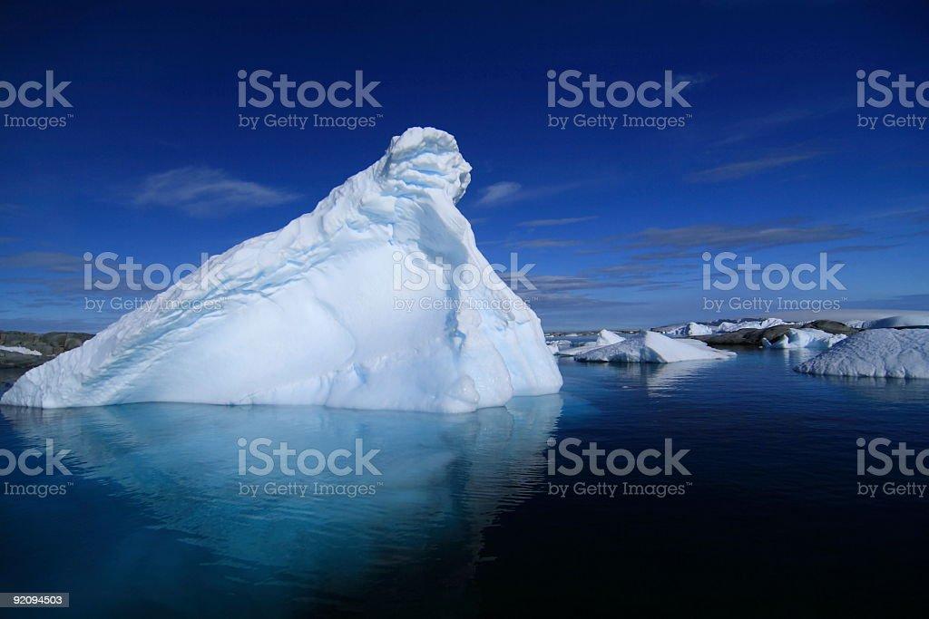 Iceberg in Antarctica royalty-free stock photo