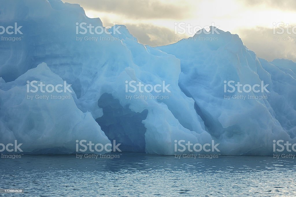 Iceberg in Svalbard royalty-free stock photo