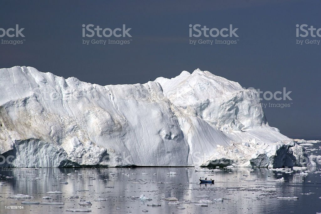 Iceberg in the Disco Bay, Ilulissat royalty-free stock photo