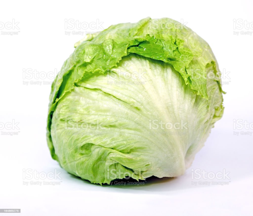 Iceberg Lettuce stock photo