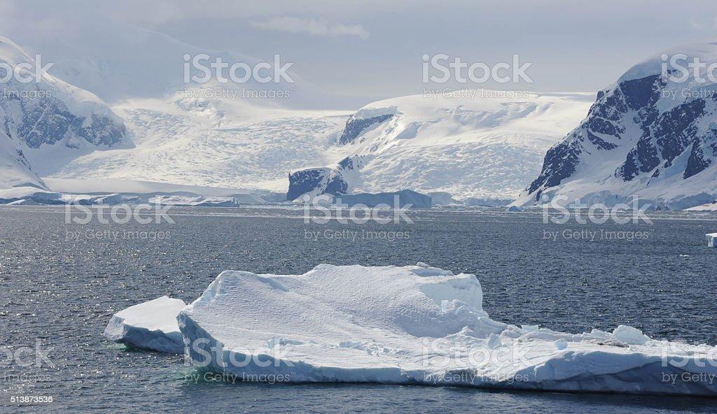 Iceberg, Neko Harbour stock photo