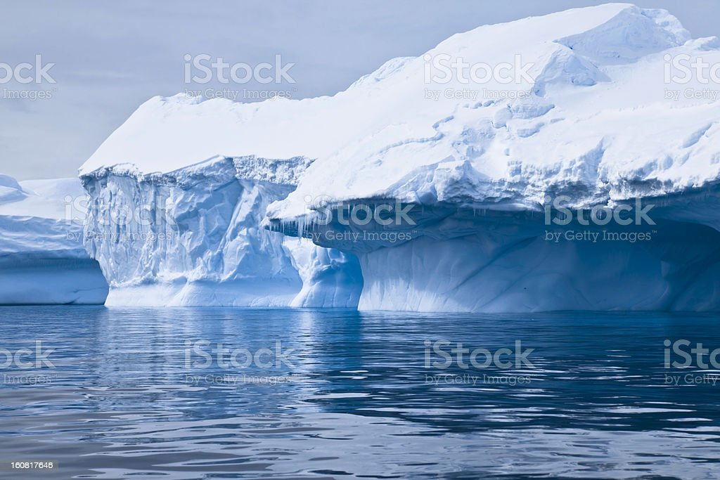 Iceberg Paradise Bay Antarctica stock photo