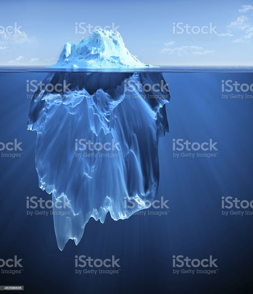 iceberg royalty-free stock photo