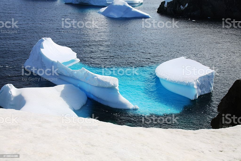 Iceberg foto stock royalty-free