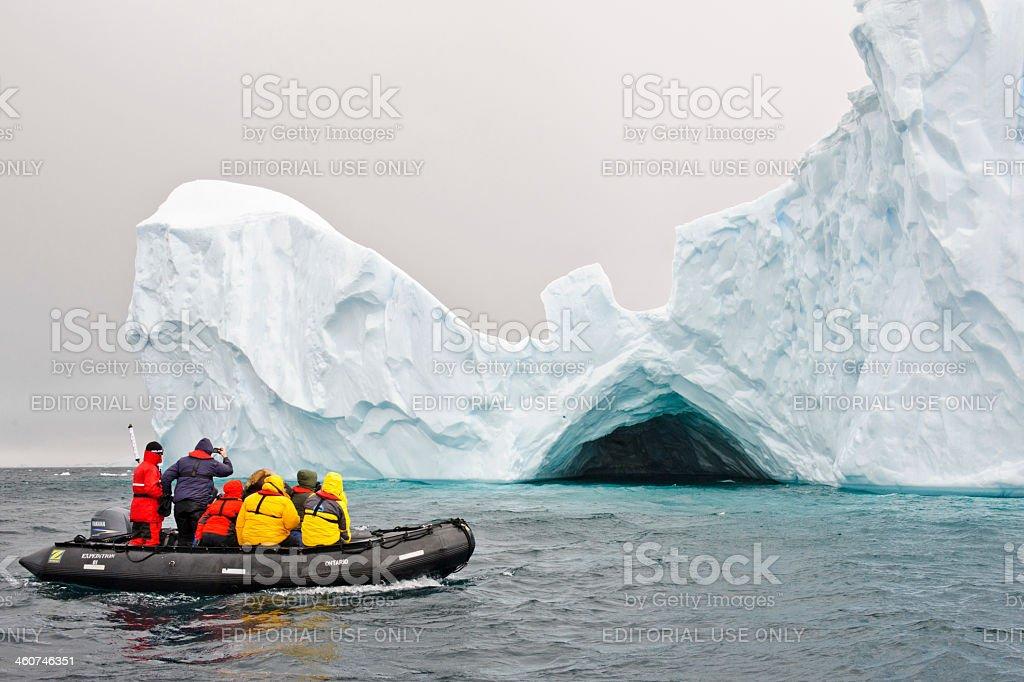 Iceberg tour stock photo