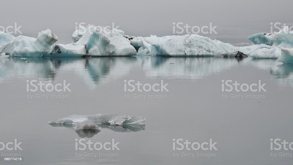 Iceberg Vatnajökull stock photo
