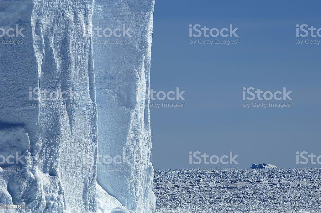 氷山のある壁 ロイヤリティフリーストックフォト