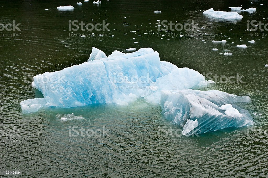 Icebergs stock photo