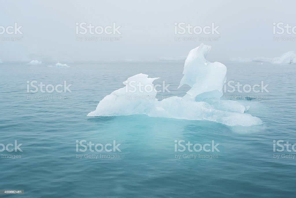 Icebergs royalty-free stock photo