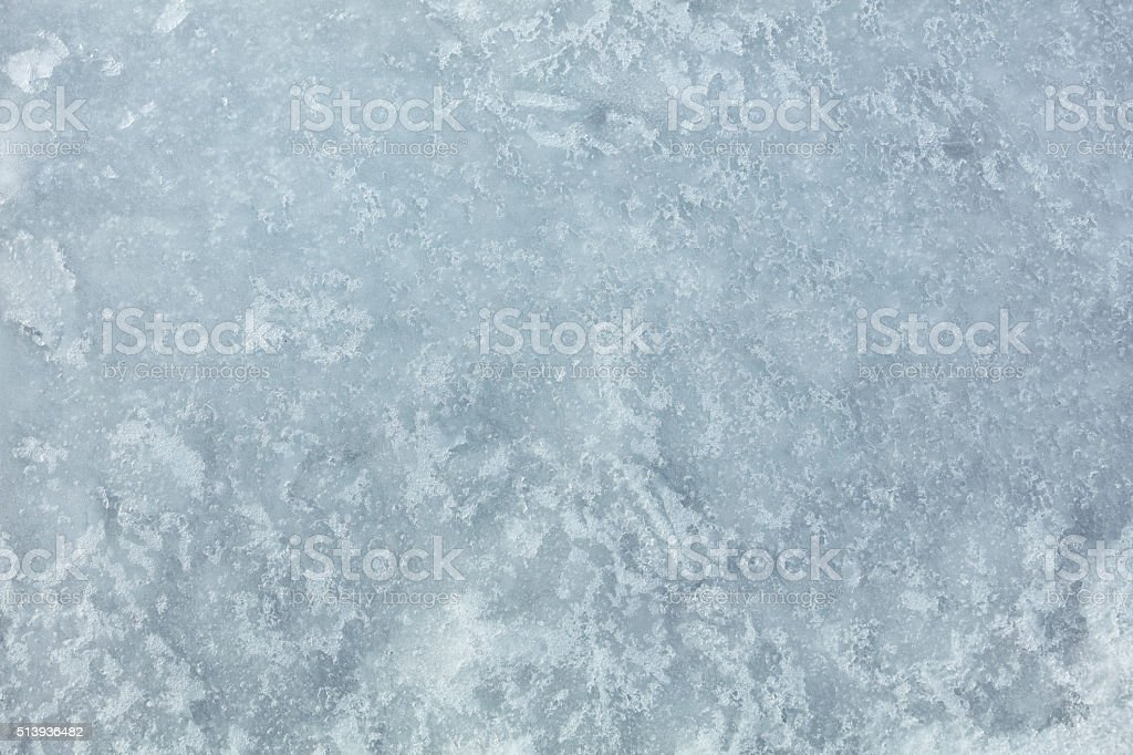 Icebound Lake stock photo
