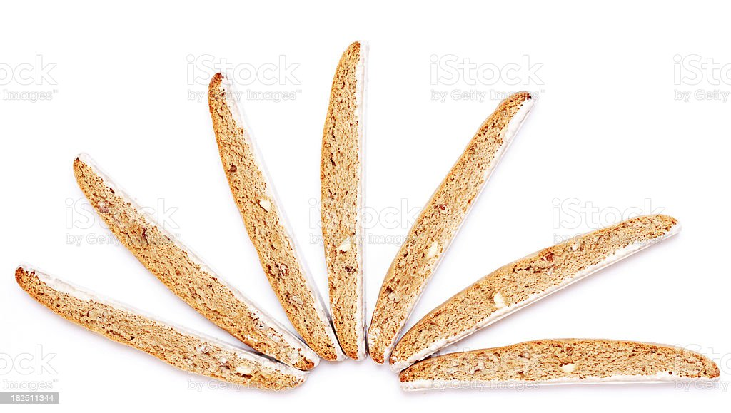 Iced Biscotti royalty-free stock photo