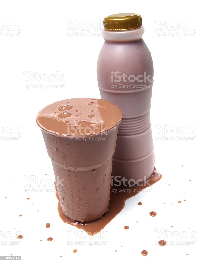 Iced Chocolate Milk royalty-free stock photo
