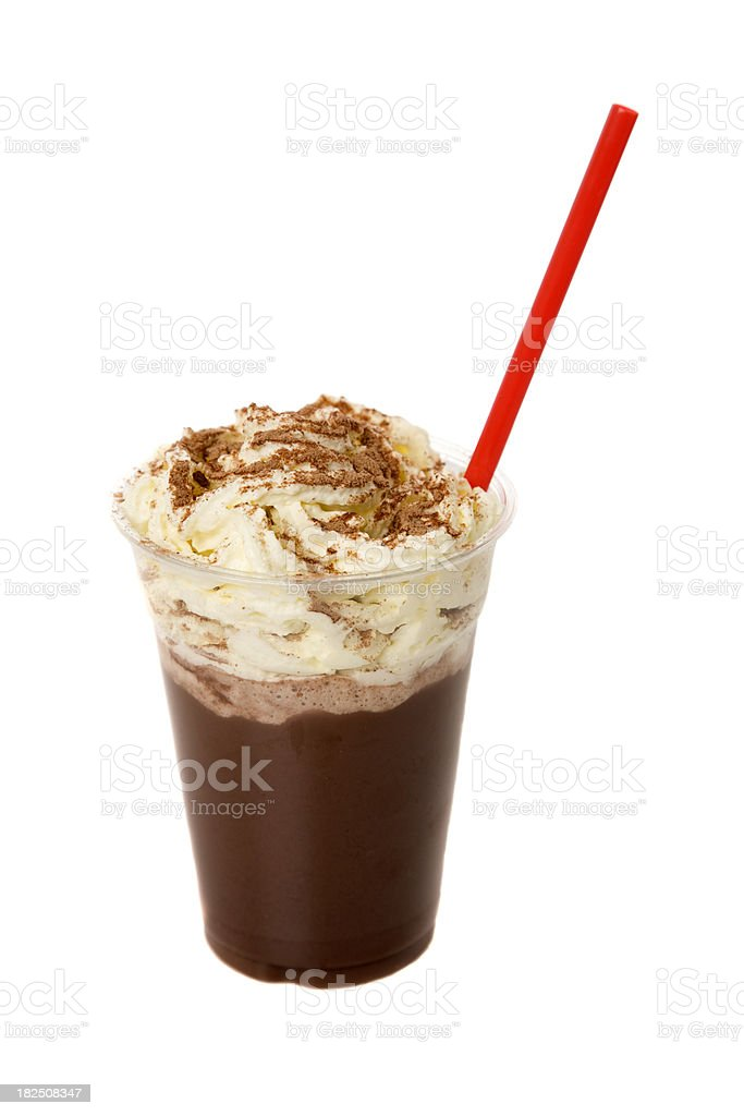Iced Chocolate stock photo