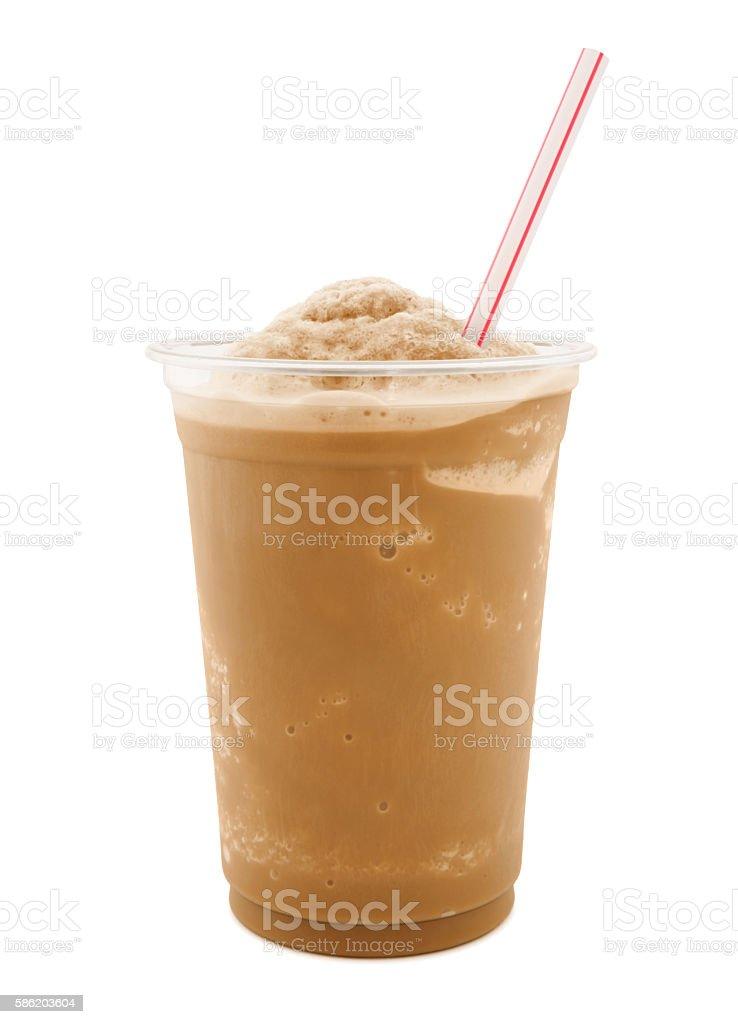 Iced Coffee (with path) stock photo