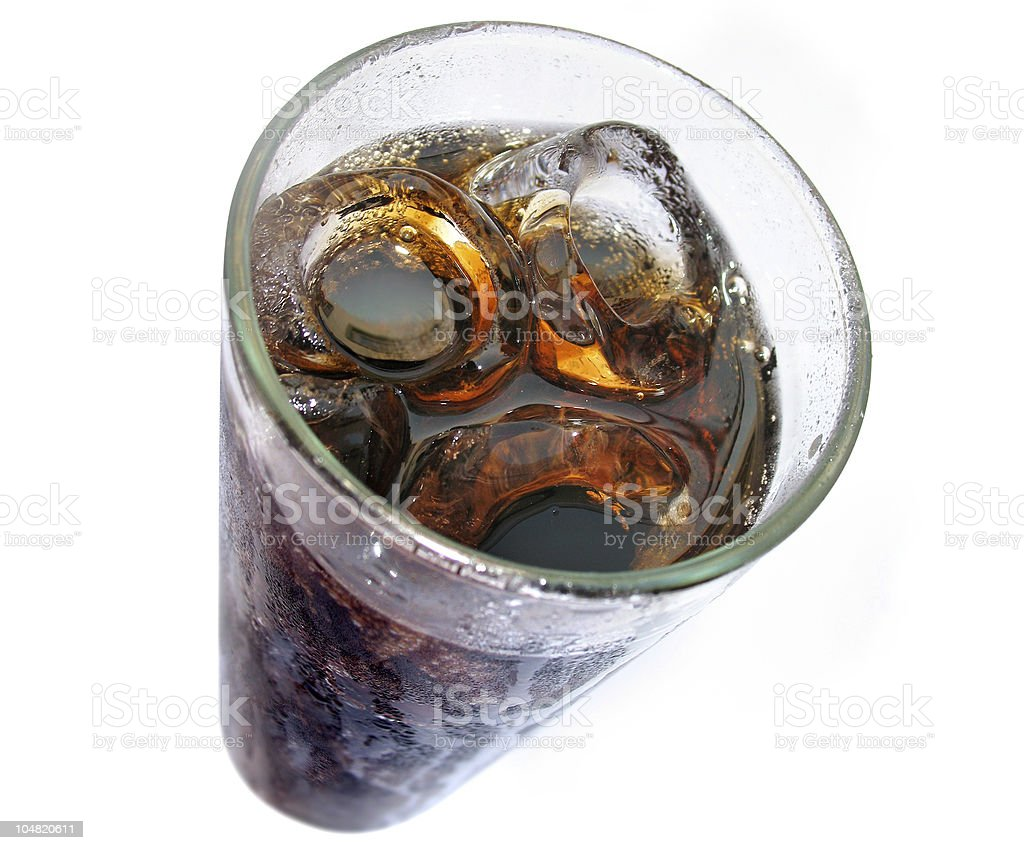 iced coke royalty-free stock photo