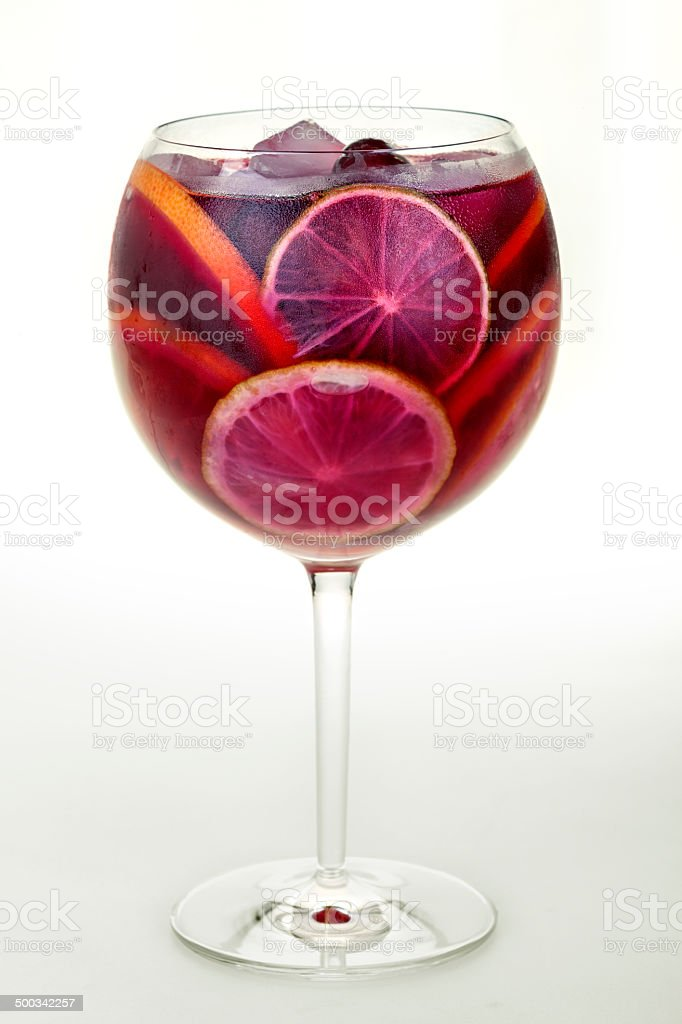 Iced drink stock photo