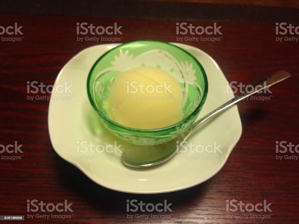 iced sweets stock photo