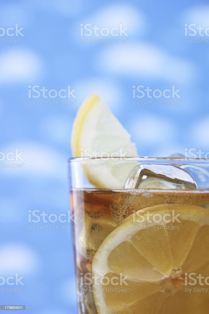 Iced Tea for Summer royalty-free stock photo