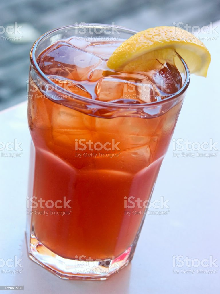 Iced Tea royalty-free stock photo