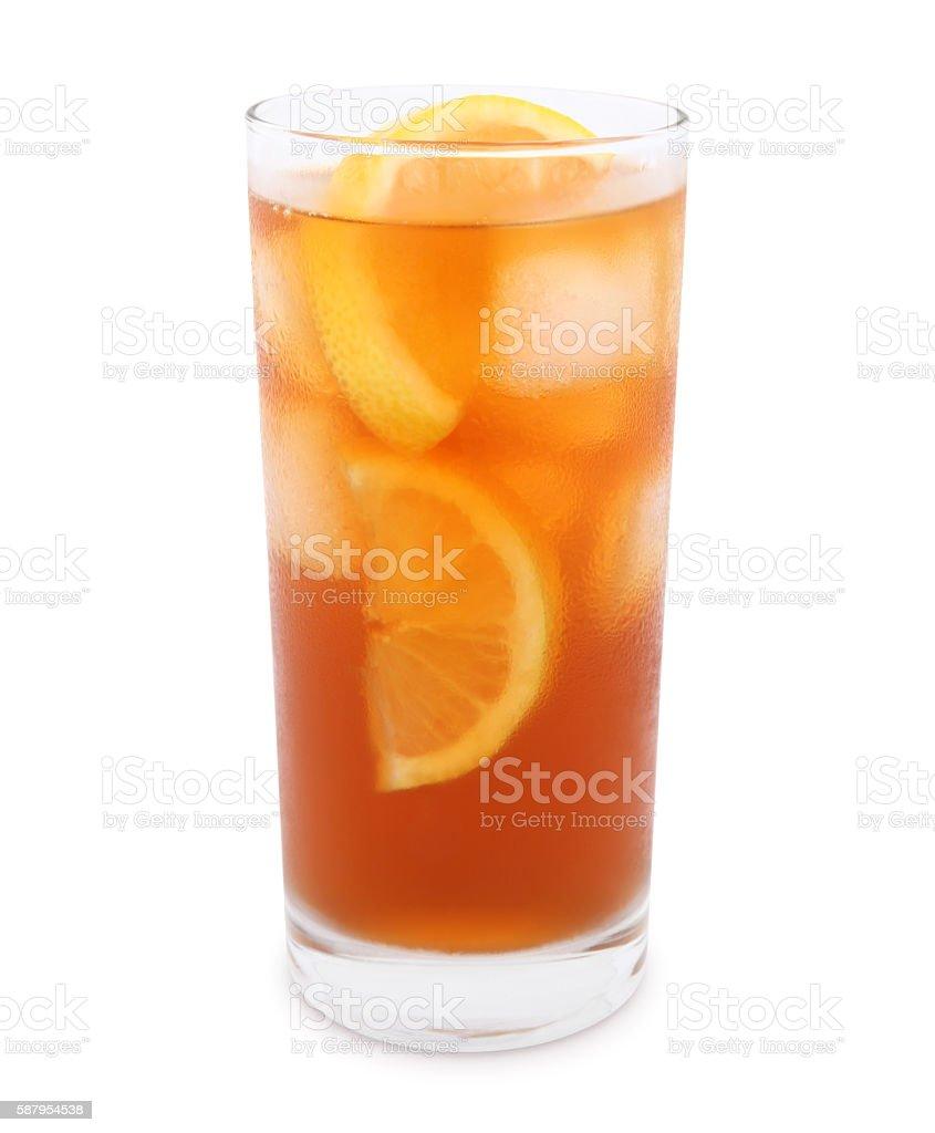 Iced Tea (with path) stock photo