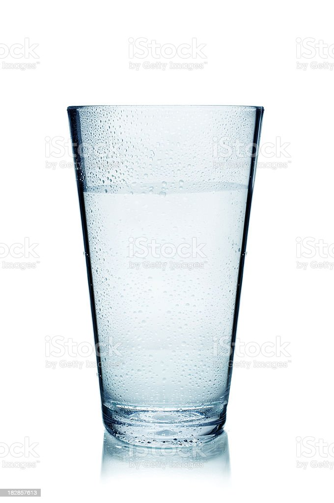 Iced water royalty-free stock photo