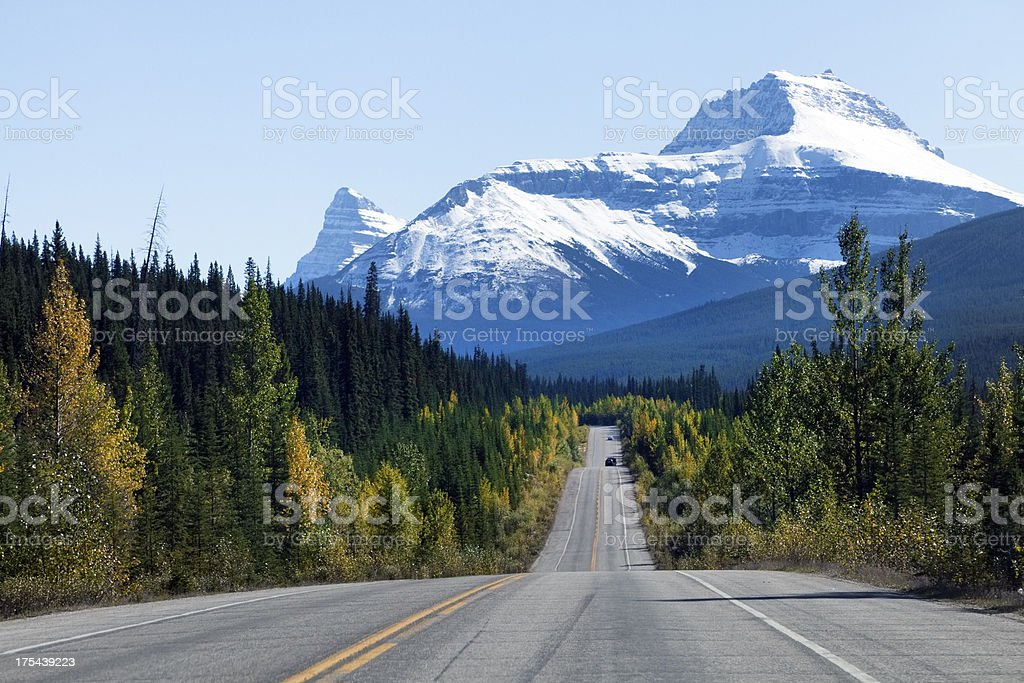Icefield Parkway, Canada stock photo