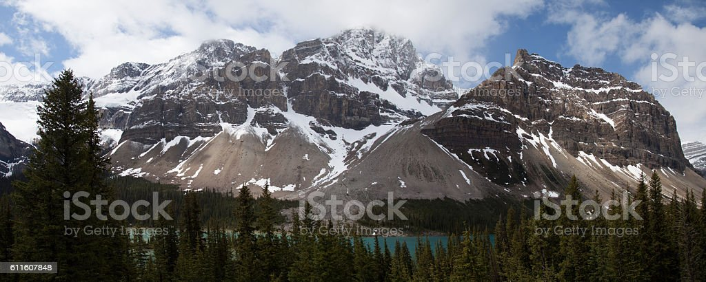 Icefield Parkway Canada stock photo