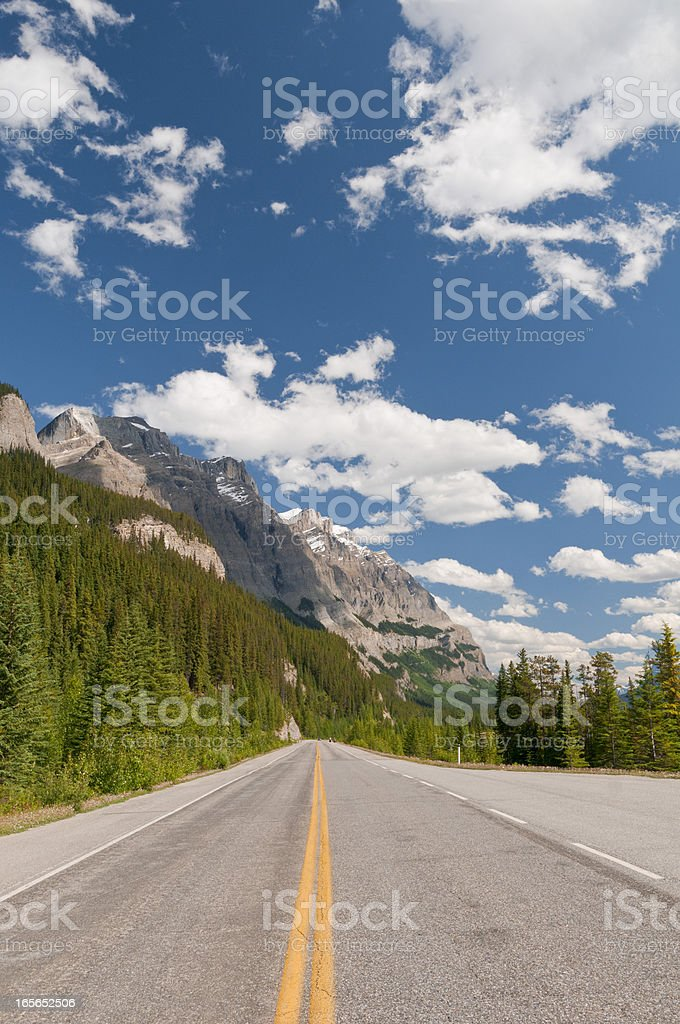Icefield Parkway stock photo