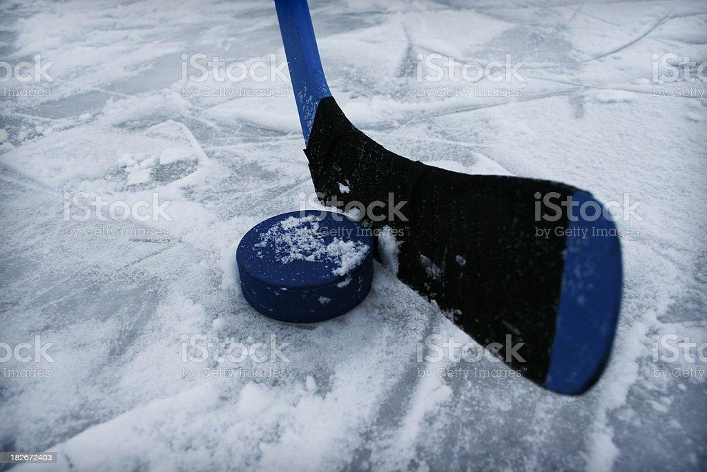 Ice-hockey stick 2 royalty-free stock photo