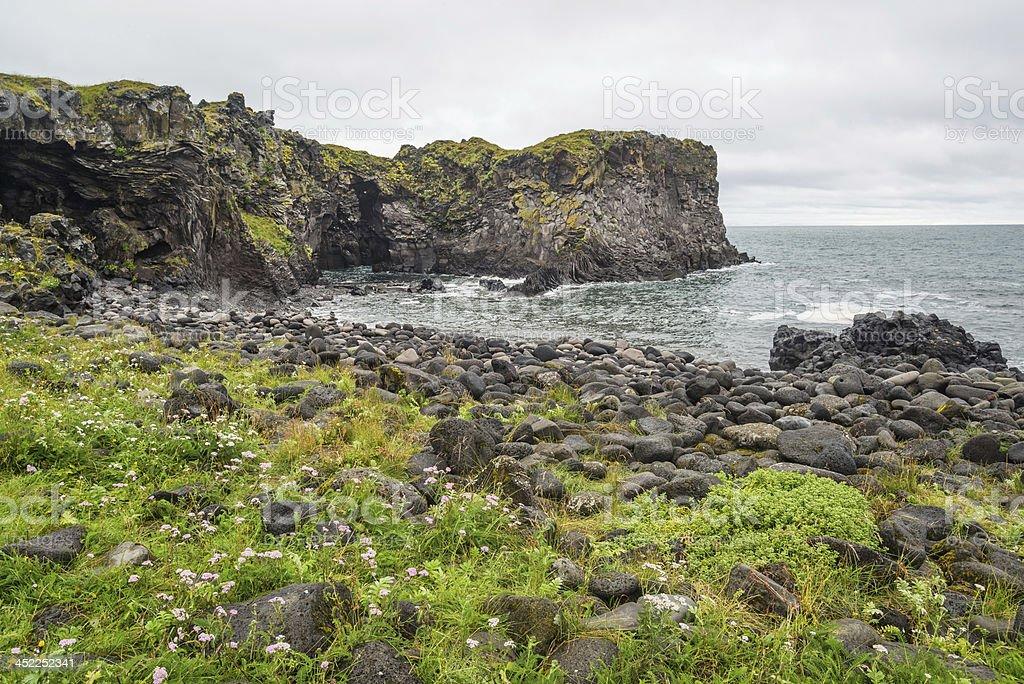 Iceland coast royalty-free stock photo