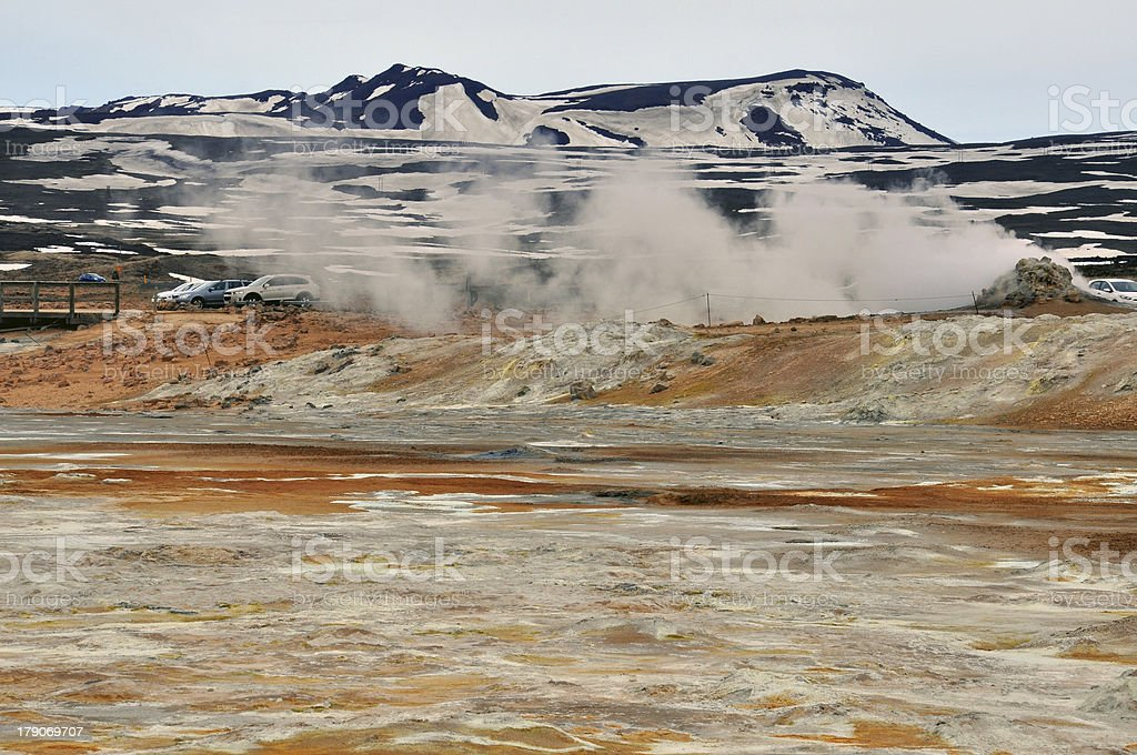 Iceland Desert Mountains royalty-free stock photo