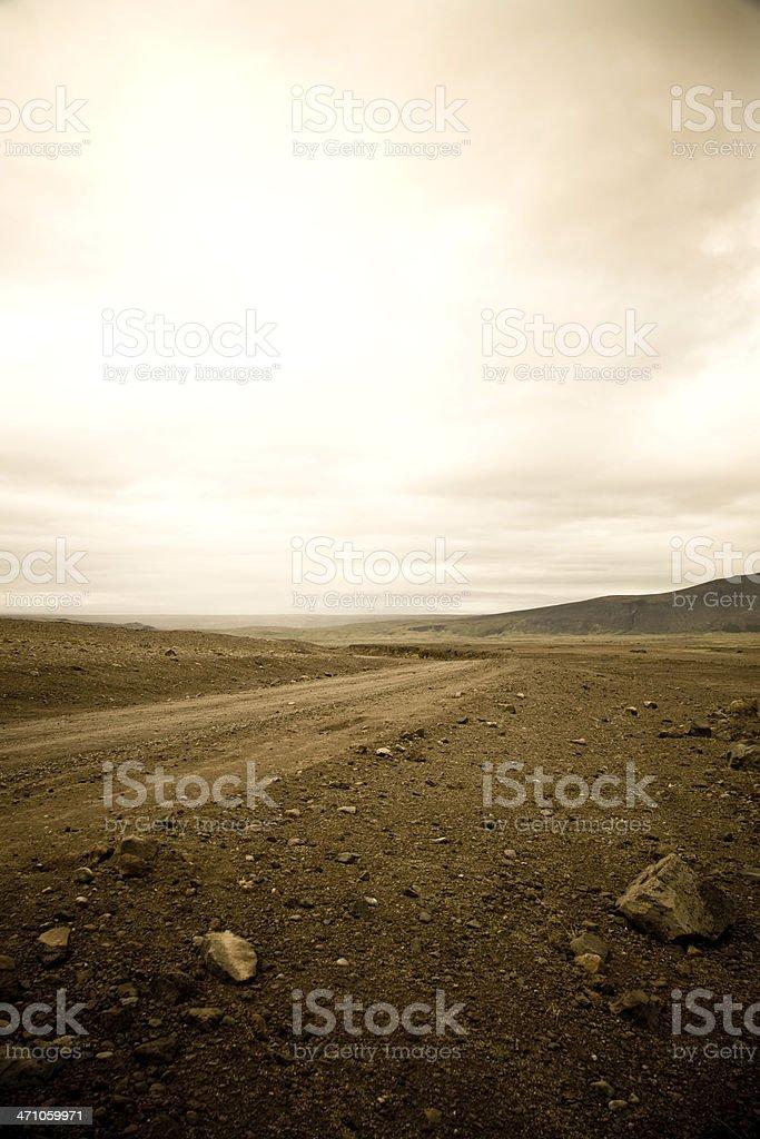 Iceland - Dramatic Landscape royalty-free stock photo