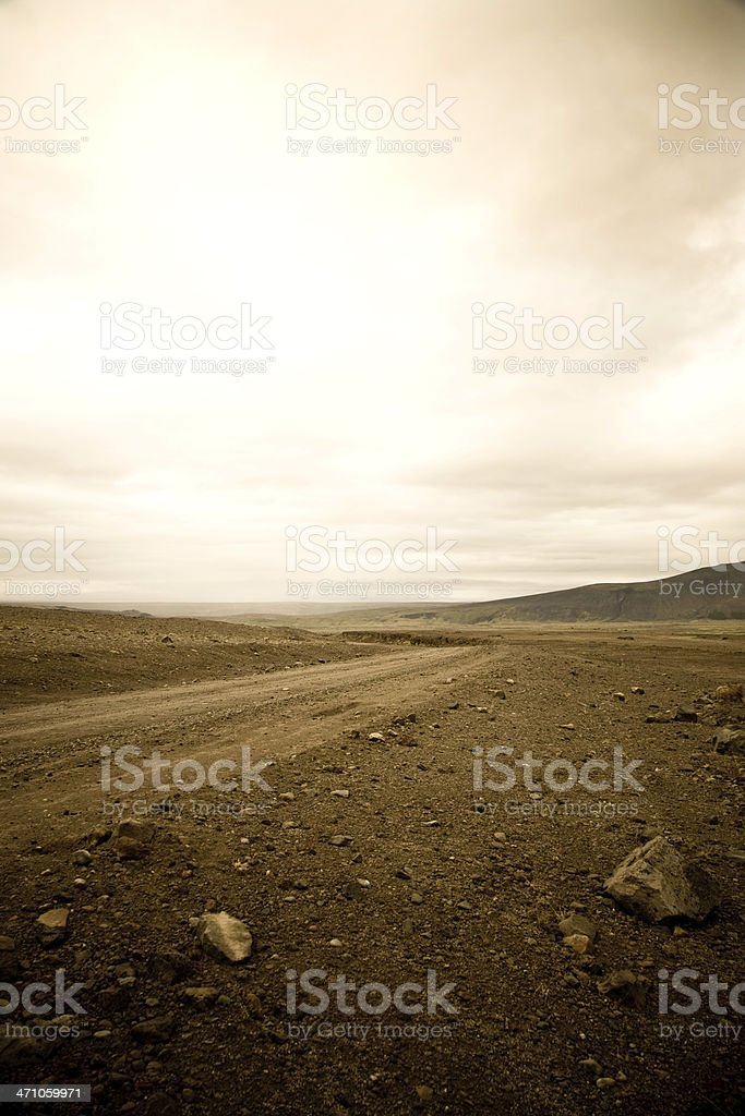Iceland - Dramatic Landscape stock photo