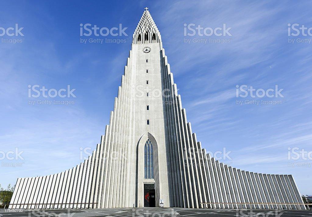 Iceland: Hallgrimskirkja stock photo