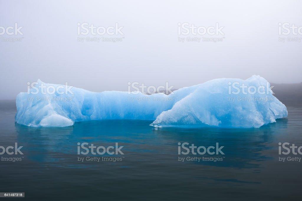 Iceland- Jokulsarlon Glacier Lagoon stock photo