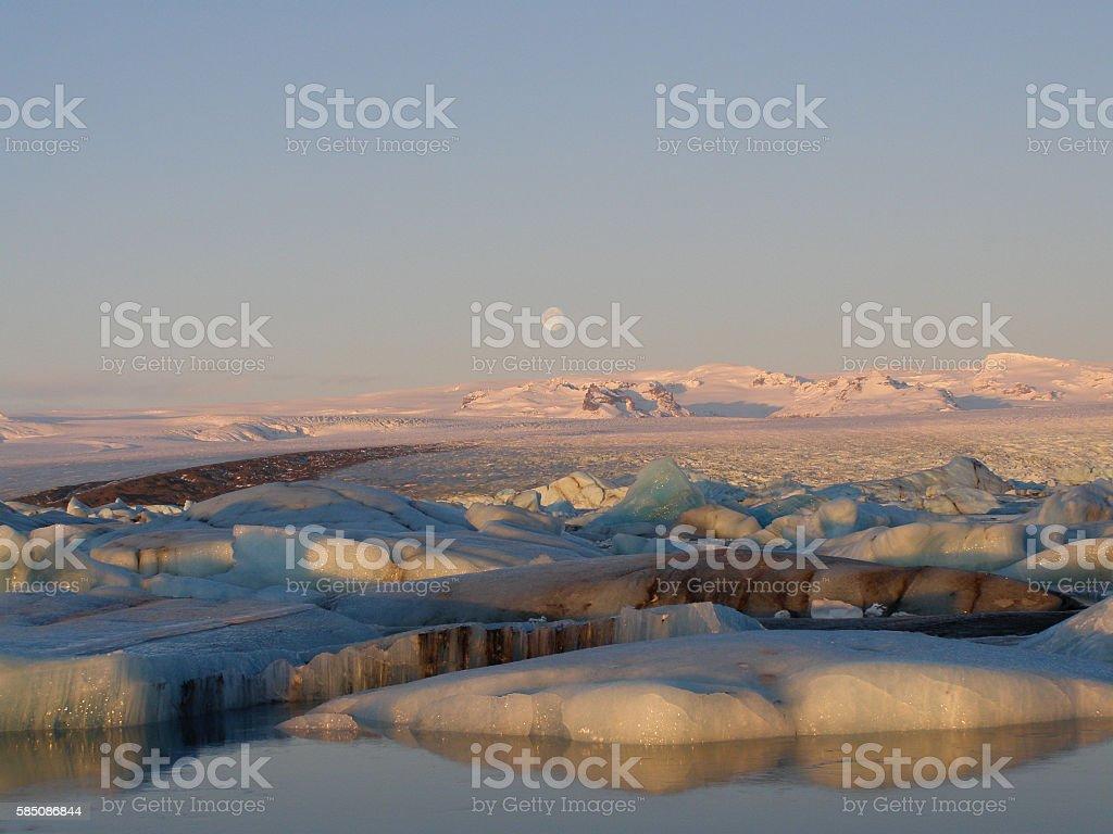 Iceland Jokursarlon stock photo
