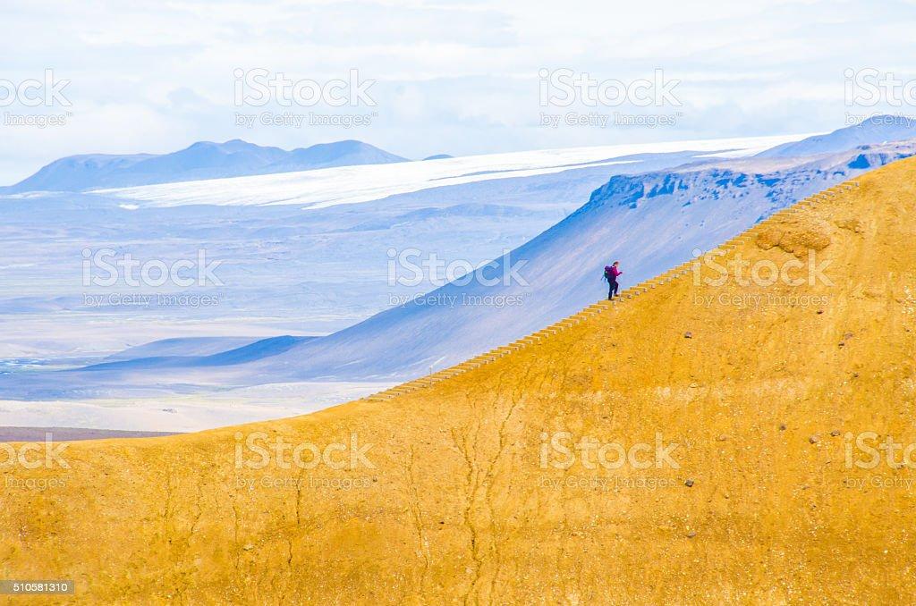 Iceland Kerlingarfjöll Landscape stock photo